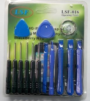 Набор для ремонта LSF-016 (отвертки: T4-T6, крестик, шлиц,