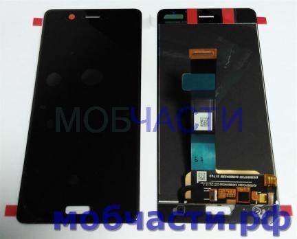 Дисплей с сенсором Nokia 5, TA 1053, черный.