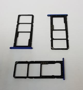Сим держатель Huawei Honor 8X, JSN-L21, синий