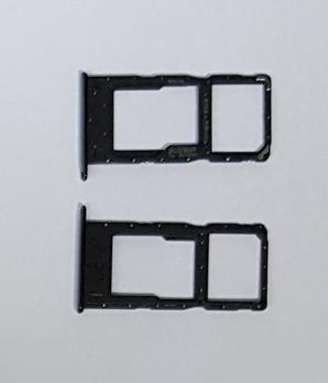 Сим держатель Huawei Honor 10 Lite, HRY-LX1, Honor 20E, HRY-LX1T, черный