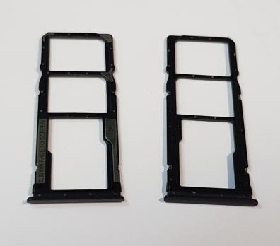 Сим держатель Xiaomi Redmi 7, m1810f6lg, черный