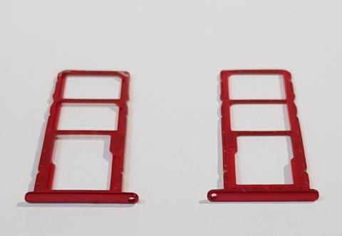 Сим держатель Huawei Honor 8X, JSN-L21, красный