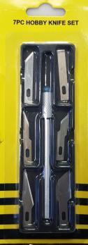 Набор  для ремонта ChB (6 лезвий с металической ручкой в пенале)