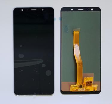 Дисплей с сенсором Samsung Galaxy A7 2018, SM A750fn/ds, черный, TFT Premium