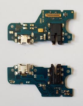 Нижняя плата с разъемом зарядки и микрофоном Huawei Honor 9A, MOA-LX9N