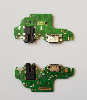 Нижняя плата с разъемом зарядки и микрофоном Huawei P40 Lite, JNY-LX1