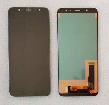 Дисплей с сенсором Samsung Galaxy A6 Plus 2018, SM A605f, черный, TFT