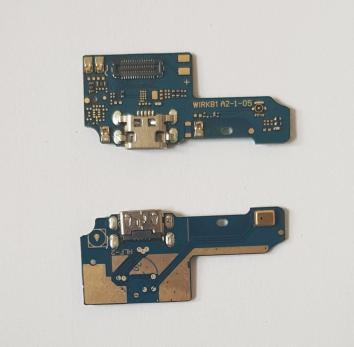 Шлейф (плата) с разъемом зарядки и микрофоном Asus Zenfone Max Plus (M1), ZB570TL, X018d