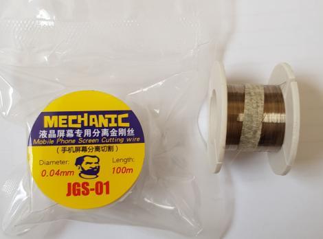 Струна для отделения стекол, JGS, 0,04mm 100m