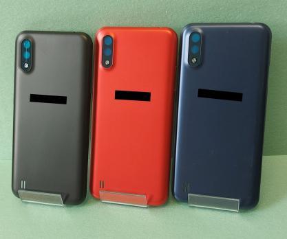Задняя крышка Samsung Galaxy A01, SM A015F/DS/G, красная