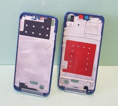 Рамка дисплея (средняя часть корпуса) Huawei P20 Lite, ANE-LX1, синяя