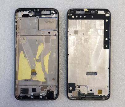 Рамка дисплея (средняя часть корпуса) Huawei Honor 9 Lite, LLD-L31, черная