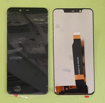 Дисплей с сенсором Nokia 5.1 Plus, TA-1105, TA-1108, TA-1112, TA-1120, черный