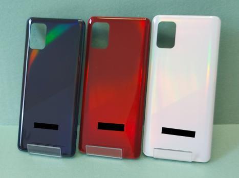 Задняя крышка Samsung Galaxy A31, SM A315F, красная
