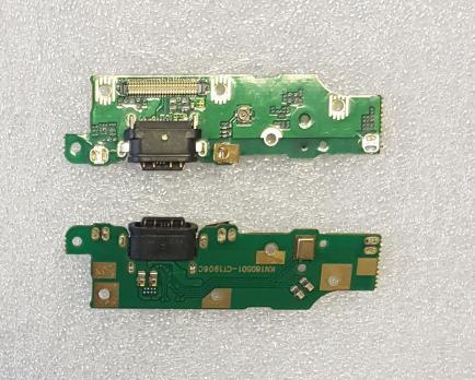 Нижняя плата с разъемом зарядки и микрофоном Nokia 6.1, 2018, TA-1043