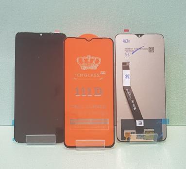 Дисплей с сенсором Xiaomi Redmi 9, m2004J19AG, m2004J19PI, черный