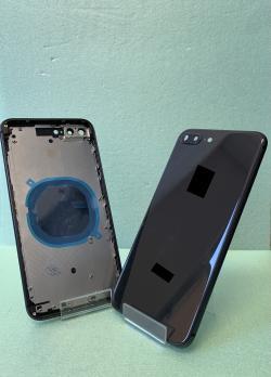 Корпус с задней крышкой iPhone 8 Plus, черный