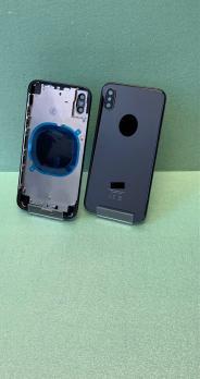 Корпус с задней крышкой iPhone X, черный