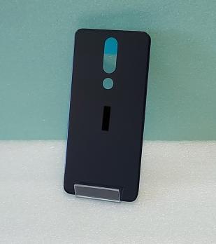 Задняя крышка Nokia 5.1 Plus, TA-1105, TA-1108, TA-1112, TA-1120, черная