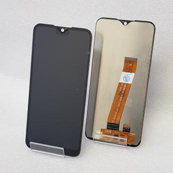 Дисплей с сенсором Samsung Galaxy A01, SM A015F/DS/G, узкий коннектор шлейфа (не РСТ), черный