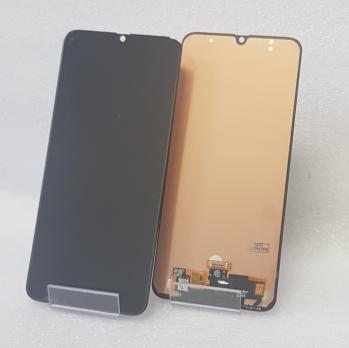 Дисплей с сенсором Samsung Galaxy M21, SM M215F/DSN, черный, TFT