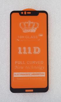 Защитное стекло 5d, 9h для Nokia 5.1 Plus, TA-1105, TA-1108, TA-1112, TA-1120, черное