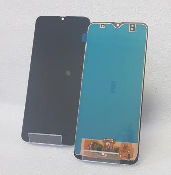 Дисплей с сенсором Samsung Galaxy M31, SM M315F, черный, TFT