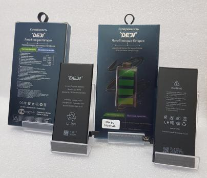 Аккумулятор iPhone 6, (DEJI) 3,82vDC, 1810mAh