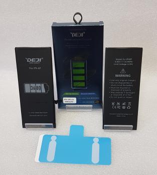 Аккумулятор iPhone 6 Plus, 6S Plus, (DEJI) 3,82vDC, 3510mAh (увеличенная емкость)