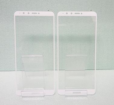 Защитное стекло 5d 9h для Huawei Y9 2018, FLA-LX1, белое