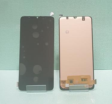 Дисплей с сенсором Samsung Galaxy A70, SM A705FD, черный, Oled