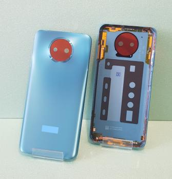 Задняя крышка Xiaomi Redmi Note 9T, M2007J22G, синяя