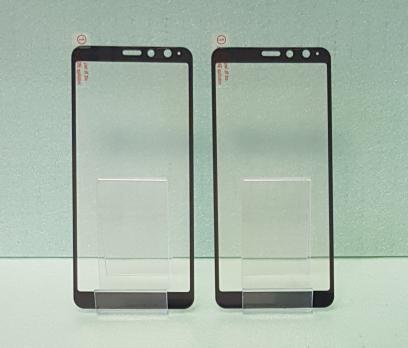 Защитное стекло 5d 9h, для Asus Zenfone Max Plus (M1), ZB570TL, X018d, черное