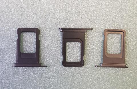 Сим держатель iPhone XS Max, черный