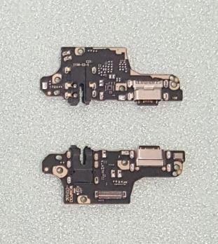 Нижняя плата с разъемом зарядки и микрофоном Xiaomi Poco X3, m2007j20cg