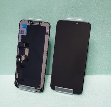 Дисплей с сенсором iPhone XS Max, Oled, черный