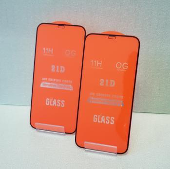 Защитное стекло 5d 9h, для Apple iphone 12, iPhone 12 Pro, черное