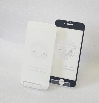 Защитное стекло 5d 9h, для Apple iphone 6, iphone 6S, белое