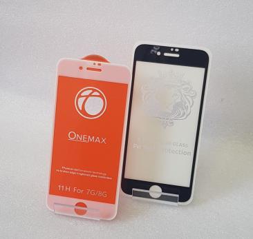 Защитное стекло 5d 9h, для Apple iphone 7, iphone 8, белое