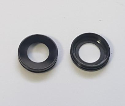 Ободок (колечко) камеры iPhone 7, черное