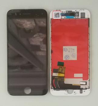 Дисплей с сенсором iPhone 8, черный