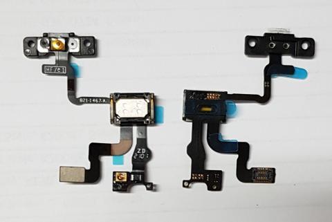 Шлейф iPhone 4S на кнопку включения