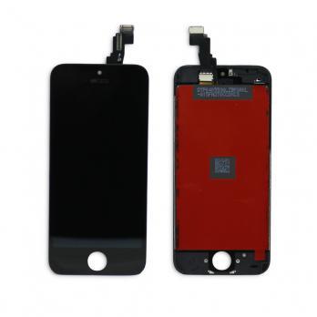 Дисплей с сенсором iPhone 5c, черный.