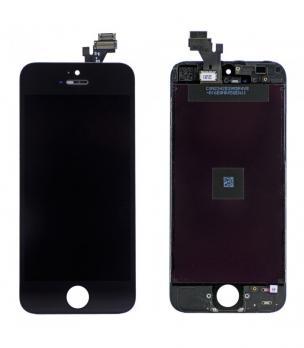 Дисплей с сенсором iPhone 5g черный.