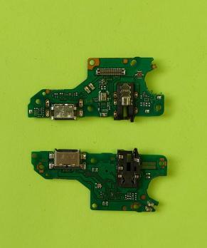 Нижняя плата с разъемом зарядки и микрофоном Huawei Honor 10X Lite, DNN-LX9, P-Smart 2021, PPA-LX1