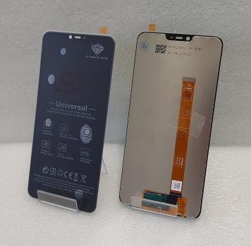 Дисплей с сенсором Oppo A3S (CPH-1803), Oppo A5 (CPH-1809), черный