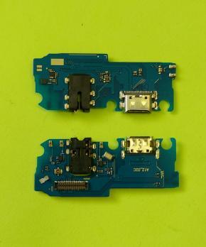 Шлейф (плата) с разъемом зарядки Samsung Galaxy A12, SM A125F/DS
