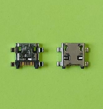 Разъем зарядки №20 Micro-USB для Samsung Galaxy i8262, S4 mini, i9190, S4, i9500, i9505