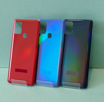 Задняя крышка Samsung Galaxy A21S, SM A217F/DS, синяя