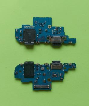 Шлейф (плата) с разъемом зарядки Samsung Galaxy A52, SM A525F